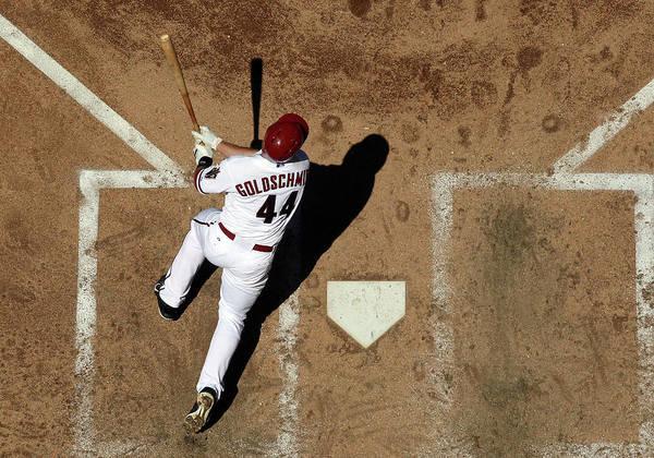 National League Baseball Art Print featuring the photograph Paul Goldschmidt by Christian Petersen