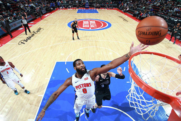 Nba Pro Basketball Art Print featuring the photograph Andre Drummond by Brian Sevald