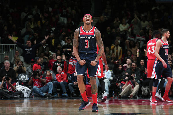 Nba Pro Basketball Art Print featuring the photograph Bradley Beal by Ned Dishman