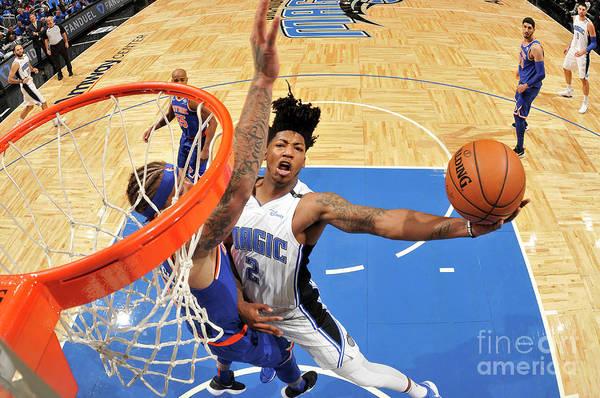 Nba Pro Basketball Art Print featuring the photograph Elfrid Payton by Fernando Medina