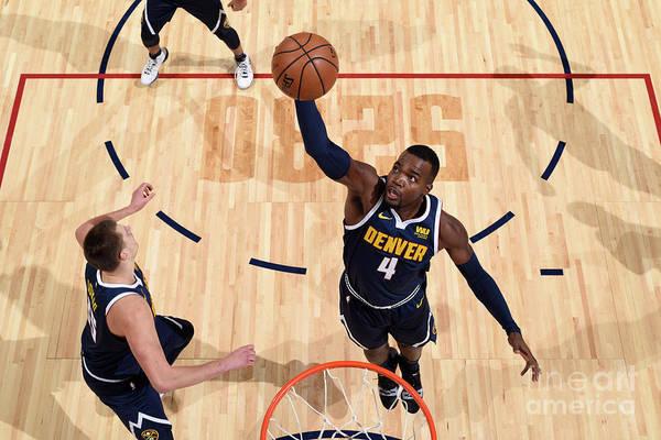 Nba Pro Basketball Art Print featuring the photograph Paul Millsap by Garrett Ellwood