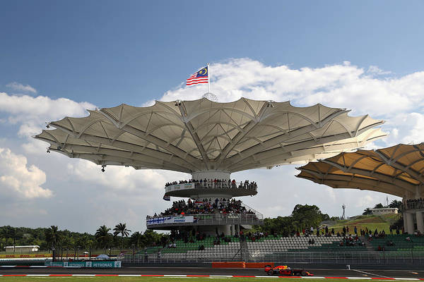 Formula One Grand Prix Art Print featuring the photograph F1 Grand Prix of Malaysia by Mark Thompson