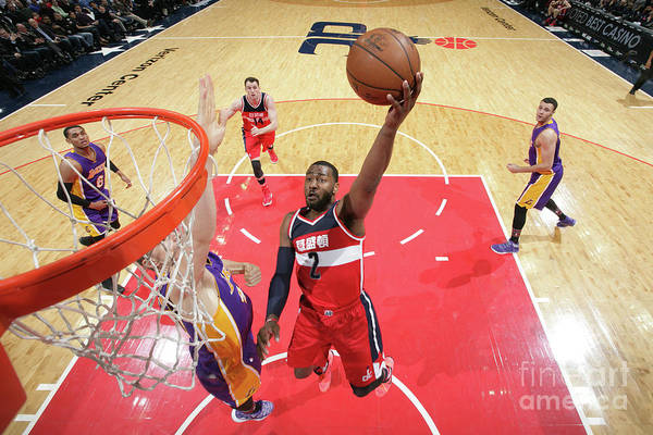 Nba Pro Basketball Art Print featuring the photograph John Wall by Ned Dishman