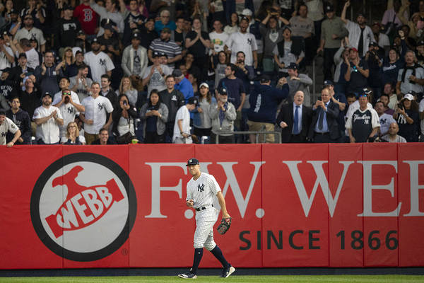 People Art Print featuring the photograph Aaron Judge by Billie Weiss/Boston Red Sox