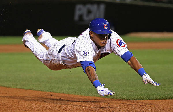 People Art Print featuring the photograph Addison Russell by Jonathan Daniel