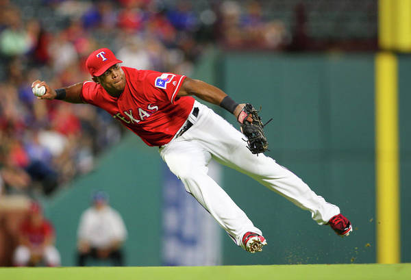 Adrian Beltre Art Print featuring the photograph Adrian Beltre by Rick Yeatts