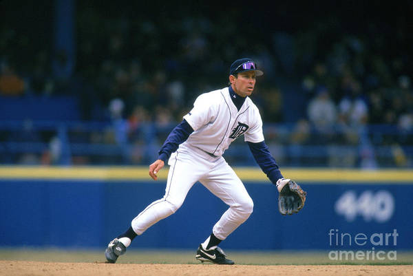 Sports Ball Art Print featuring the photograph Alan Trammell by John Reid Iii