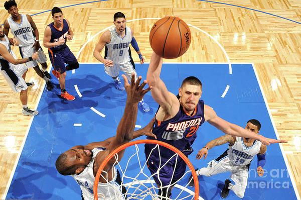 Nba Pro Basketball Art Print featuring the photograph Alex Len by Fernando Medina
