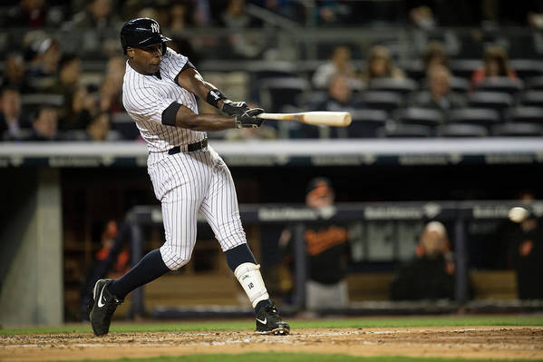 Alfonso Soriano Art Print featuring the photograph Alfonso Soriano by Rob Tringali