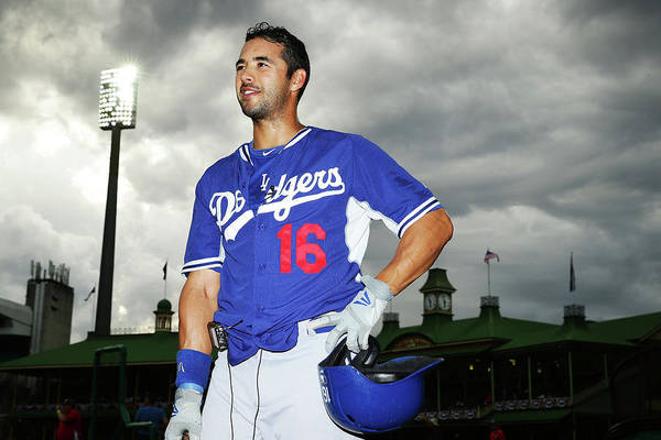 Season Art Print featuring the photograph Andre Ethier by Matt King
