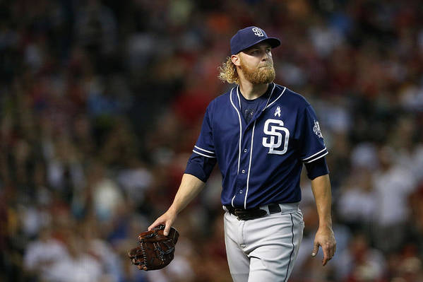 Following Art Print featuring the photograph Andrew Cashner by Christian Petersen