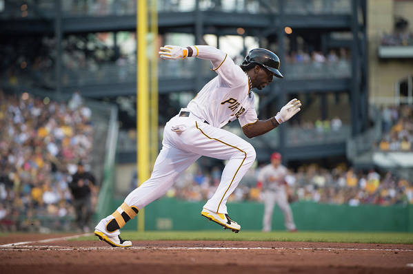Pnc Park Art Print featuring the photograph Andrew Mccutchen by Rob Tringali