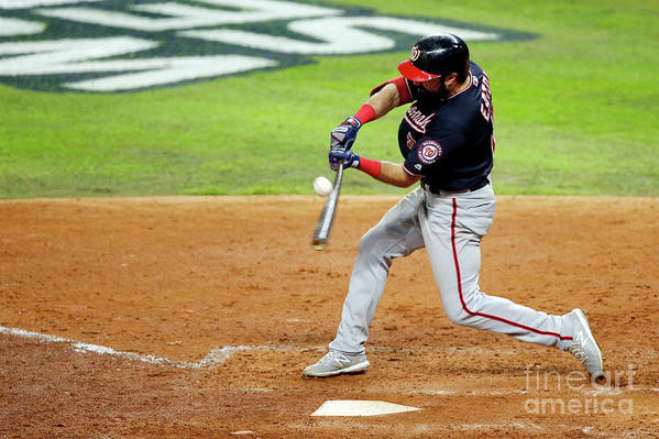 American League Baseball Art Print featuring the photograph Anthony Rendon by Bob Levey