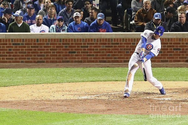 People Art Print featuring the photograph Anthony Rizzo by Dylan Buell