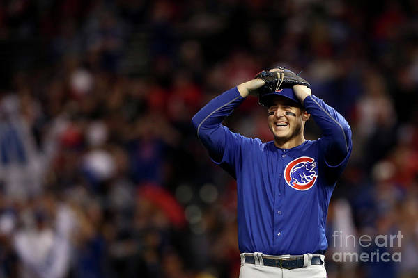 Three Quarter Length Art Print featuring the photograph Anthony Rizzo by Elsa