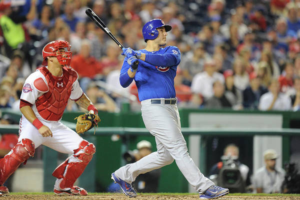 People Art Print featuring the photograph Anthony Rizzo by Mitchell Layton