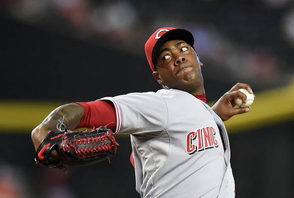 Ninth Inning Art Print featuring the photograph Aroldis Chapman by Norm Hall
