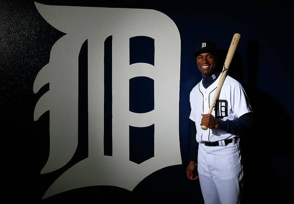 Media Day Art Print featuring the photograph Austin Jackson by Kevin C. Cox