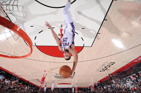 Nba Pro Basketball Art Print featuring the photograph Ben Simmons by Sam Forencich