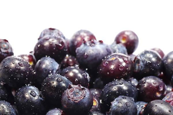 Heap Art Print featuring the photograph Blueberries by Pejft