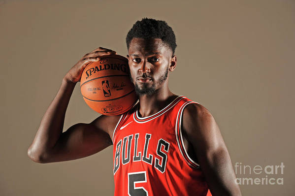 Media Day Art Print featuring the photograph Bobby Portis by Randy Belice