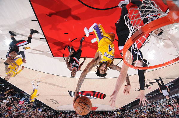 Nba Pro Basketball Art Print featuring the photograph Brandon Ingram by Sam Forencich