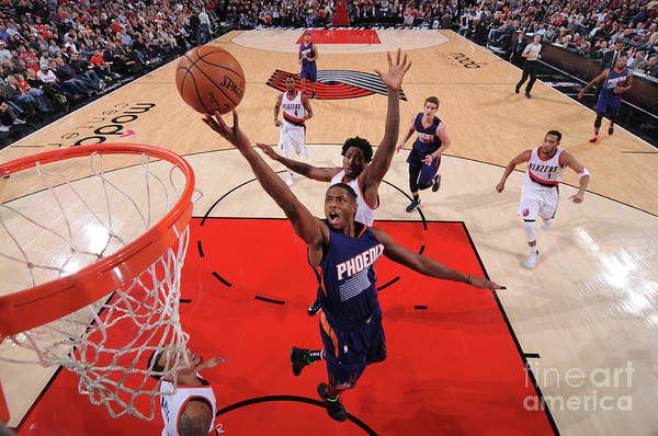 Nba Pro Basketball Art Print featuring the photograph Brandon Knight by Sam Forencich