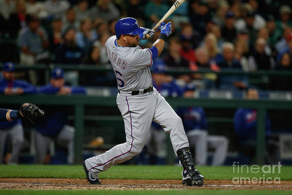 Second Inning Art Print featuring the photograph Carlos Beltran by Otto Greule Jr