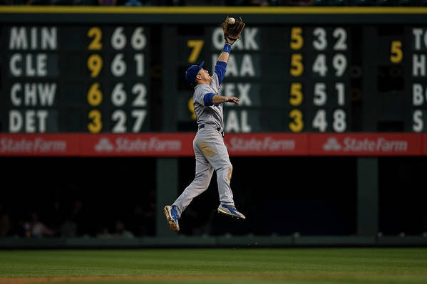 People Art Print featuring the photograph Chase Utley by Dustin Bradford