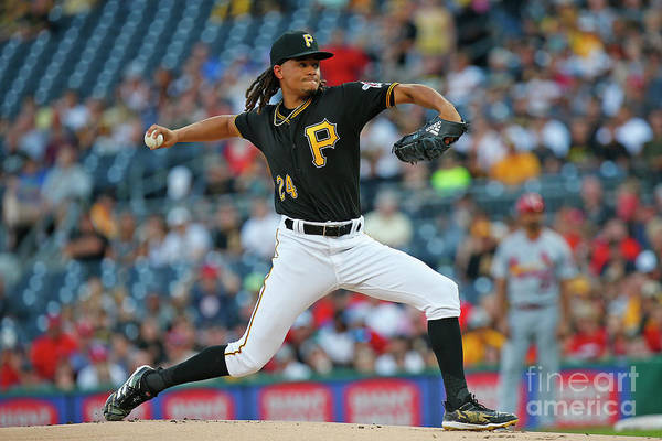 People Art Print featuring the photograph Chris Archer by Justin K. Aller