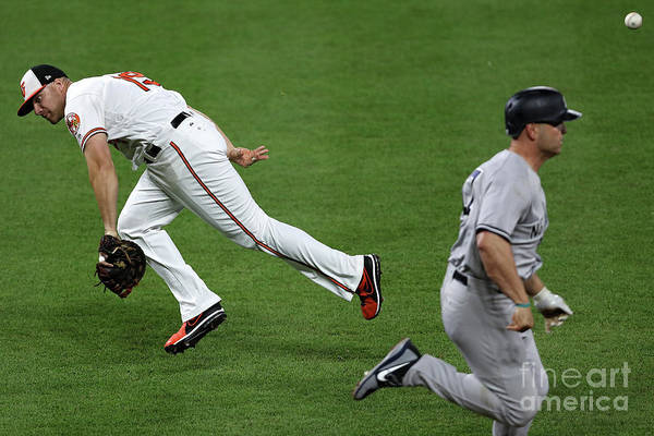 People Art Print featuring the photograph Chris Davis and Matt Holliday by Patrick Smith