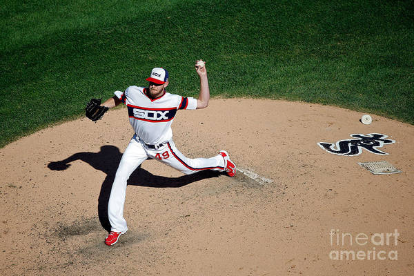 People Art Print featuring the photograph Chris Sale by Jon Durr