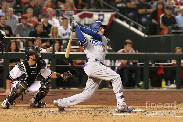 People Art Print featuring the photograph Cody Bellinger by Christian Petersen