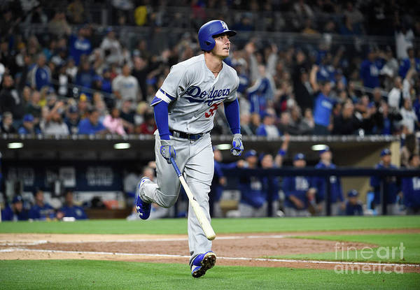 People Art Print featuring the photograph Cody Bellinger by Denis Poroy
