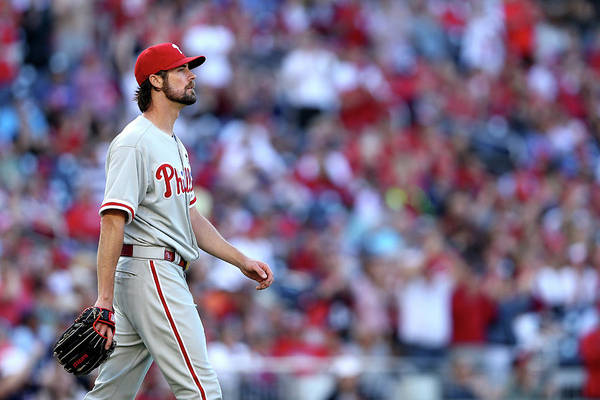 Three Quarter Length Art Print featuring the photograph Cole Hamels by Patrick Smith