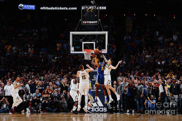 Nba Pro Basketball Art Print featuring the photograph Damian Jones by Bart Young