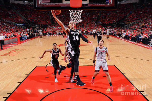 Playoffs Art Print featuring the photograph Danny Green by Jesse D. Garrabrant