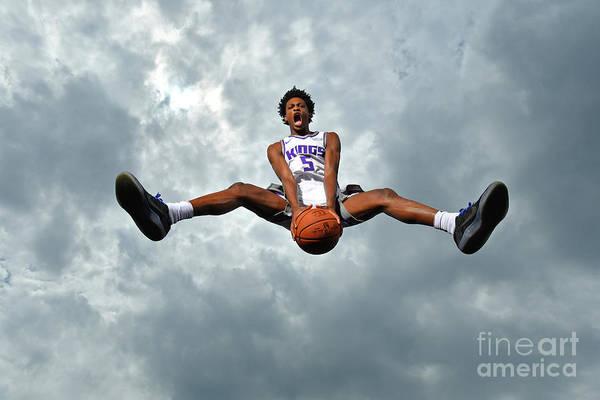 Nba Pro Basketball Art Print featuring the photograph De'aaron Fox by Jesse D. Garrabrant
