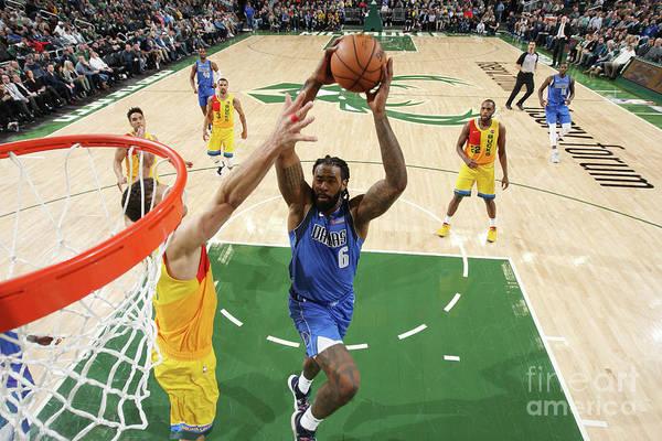 Nba Pro Basketball Art Print featuring the photograph Deandre Jordan by Gary Dineen