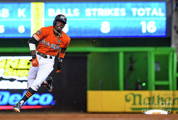 People Art Print featuring the photograph Dee Gordon by Mark Brown