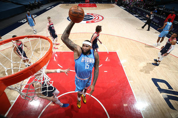 Nba Pro Basketball Art Print featuring the photograph Demarcus Cousins by Ned Dishman