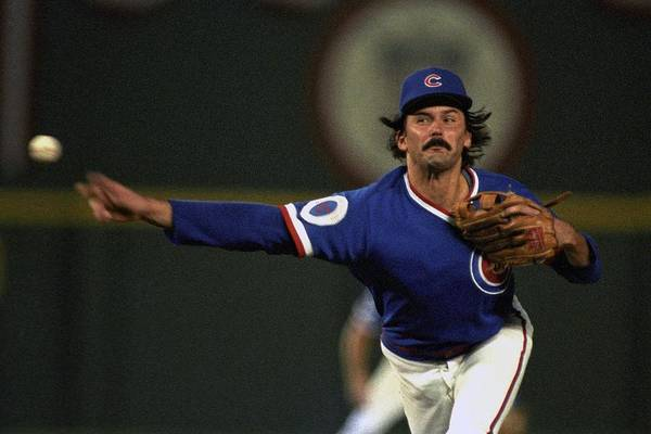 1980-1989 Art Print featuring the photograph Dennis Eckersley by Ronald C. Modra/sports Imagery