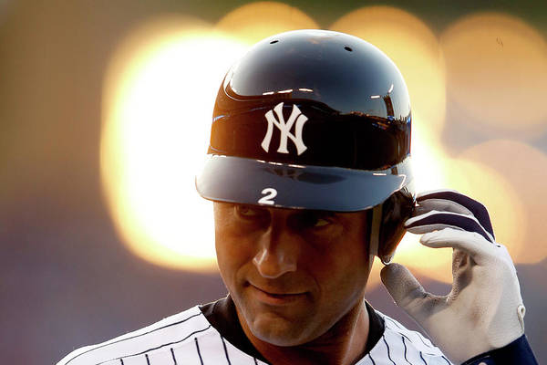 People Art Print featuring the photograph Derek Jeter by Jamie Squire