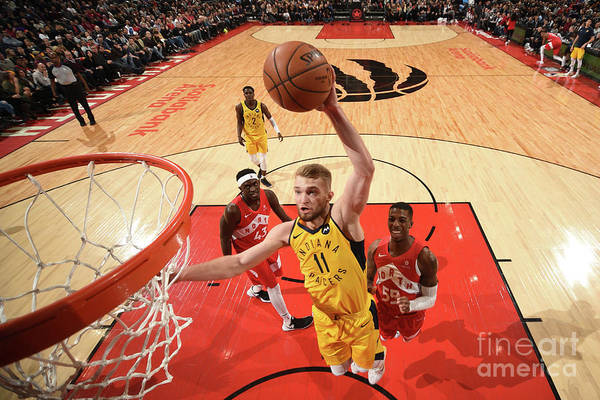 Nba Pro Basketball Art Print featuring the photograph Domantas Sabonis by Ron Turenne