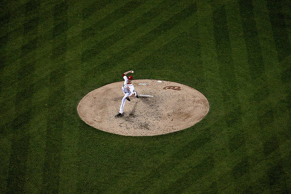 Working Art Print featuring the photograph Doug Fister by Patrick Smith