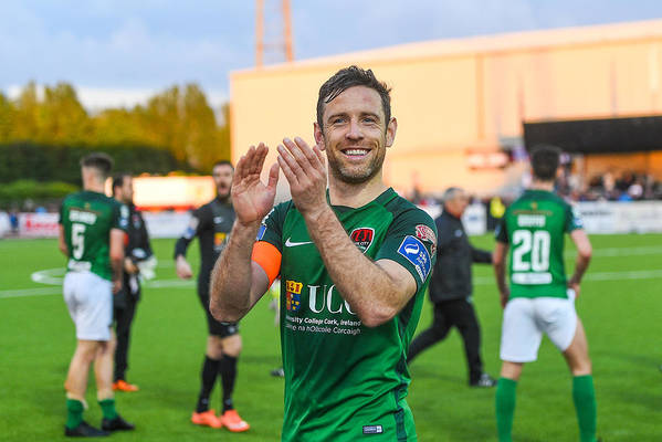 Following Art Print featuring the photograph Dundalk v Cork City - SSE Airtricity League Premier Division by Ramsey Cardy