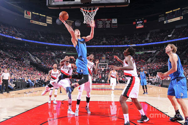 Dwight Powell Art Print featuring the photograph Dwight Powell by Sam Forencich