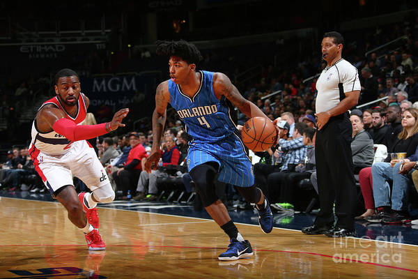 Nba Pro Basketball Art Print featuring the photograph Elfrid Payton by Ned Dishman