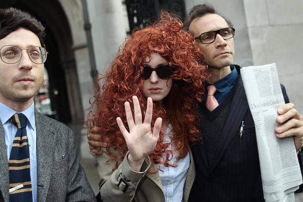 Corporate Business Art Print featuring the photograph Former Chief Executive Of News International Rebekah Brooks Gives Evidence To The Leveson Inquiry by Dan Kitwood