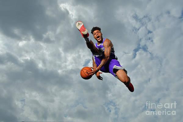 Nba Pro Basketball Art Print featuring the photograph Frank Mason by Jesse D. Garrabrant